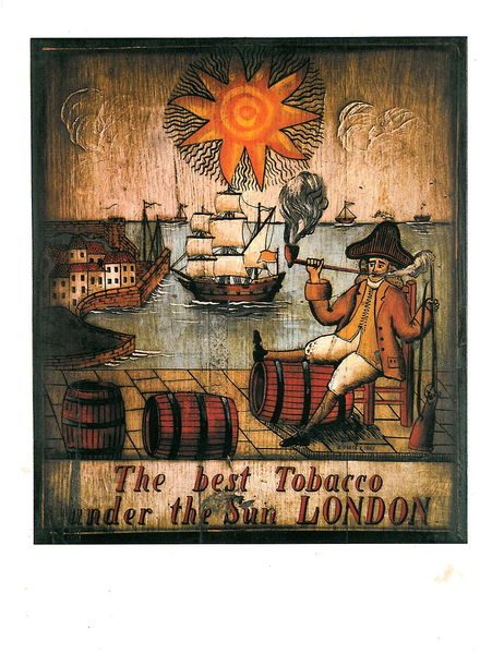 The best Tobacco under the Sun London, 25x34 cm