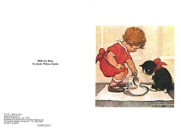 Milk for Kitty, Jessie Wilcox Smith